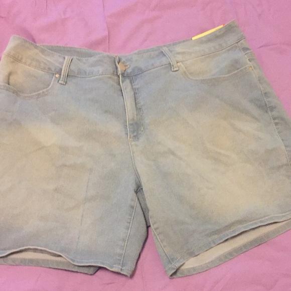 be376f24b5 Faded Glory Shorts | Blue Denim Walmart | Poshmark